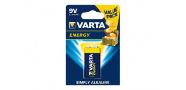 Pilas y baterías - PILA ALCALINA ENERGY 6LR61 BL.1 9V