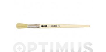 Utiles para pintar - PINCEL CABO LATA REDONDO N.06