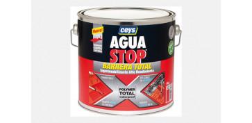 Masillas y siliconas - AGUA STOP BARRERA TOTAL 4KG-GRIS