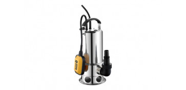 BOMBA SUMERGIBLE AGUAS SUCIAS 1100 W INOX 15.500 L/H - VIGINOX 1100 AS