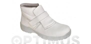 Calzado de seguridad - BOTA MERLOT SY S2 T.40 BLANCA
