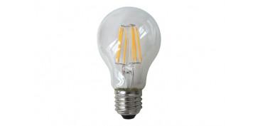 LAMPARA SFERICA FILAMENTO LED 4W 380LM E27 LUZ CALIDA