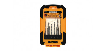Juegos y kits para herramientas - SET 16 BROCAS HSS PRO PARA METAL Ø 1- 8 MM
