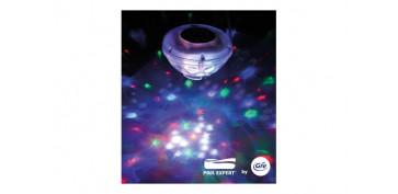 Piscinas, accesorios y complementos - LAMPARA FLOTANTE FANTASIA PISCINA7 PROGRAMAS