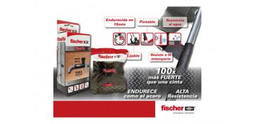 Adhesivos - BANDA REPARADORA FIBERFIX 5X130 CM
