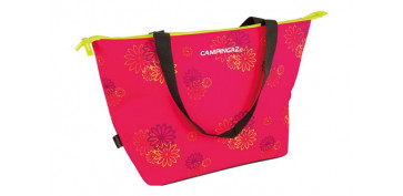 NEVERA BOLSO PINK DAISY SHOPPING 15 L