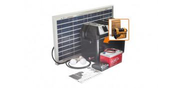 Generacion energia solar y eolica - KIT SOLARLIFE CON ACCESORIOS 30W-12V
