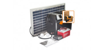 Generadores - KIT SOLARLIFE CON ACCESORIOS 30W-12V