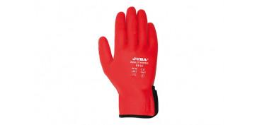 GUANTE NYLON/NITRILO AGILITY RED T-7