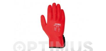 GUANTE NYLON/NITRILO AGILITY RED T-10
