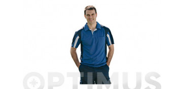 POLO COOLWAY TOP RANGE T.S AZUL/NEGRO