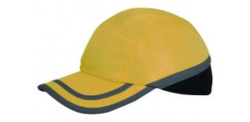 Proteccion de la cabeza - GORRA ANTIGOLPES AMARILLA