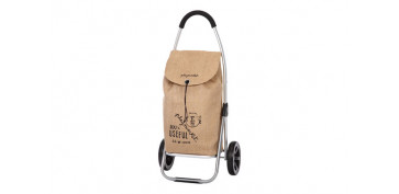 Reutilizable Eco-Friendly - CARRO COMPRA 2R. GO TWO SACO MARRON