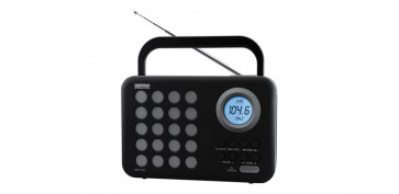 Electronica - RADIO FM DIGITAL+USB+SD DRP-120G