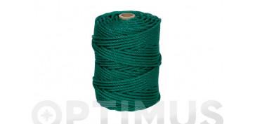 Cuerdas y cintas - CUERDA PE CABLEADA 4C 5MM 100 MT VERDE