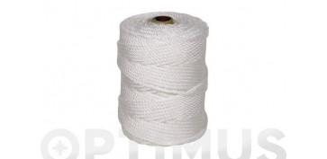 Cuerdas y cintas - CUERDA PE CABLEADA 4C 6MM 100 MT BLANCO