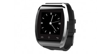 Electronica - RELOJ SMART WATCH COMPATIBLE IOS PLATA/NEGRO