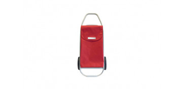 Reutilizable Eco-Friendly - CARRO COMPRA 2 RUEDAS PLEGABLE ROJO