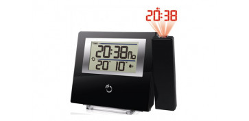 Electronica - RELOJ PROYECTOR ULTRAPLANO NEGRO