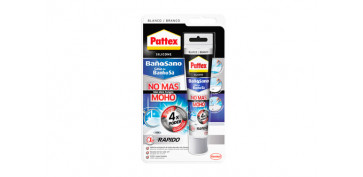 Masillas y siliconas - SELLADOR NO MAS MOHO 50ML BLANCO