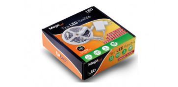Iluminacion vivienda - TIRA LED BLANCO 3 M EXTERIOR IP65 2700 K BLANCO-LUZ CALIDA