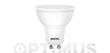 LAMPARA DICROICA LED SMD GU10 8W LUZ BLANCA
