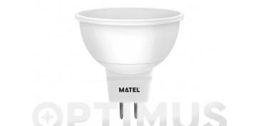 LAMPARA DICROICA LED SMD MR16 8W LUZ BLANCA