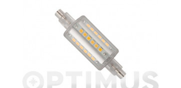LAMPARA LINEAL LED 360º R7S 78MM 6W LUZ BLANCA