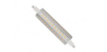LAMPARA LINEAL LED 360º R7S 118MM 12W LUZ CALIDA
