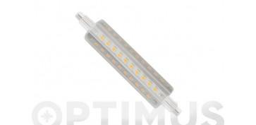 LAMPARA LINEAL LED 360º R7S 118MM 12W LUZ BLANCA