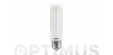 LAMPARA TUBULAR LED E27 10W LUZ CALIDA