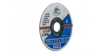 Discos - DISCO CORTE STANDARD INOX 125X1X22 PLANO