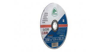 Discos - DISCO CORTE STANDARD INOX 230X1,9X22 PLANO