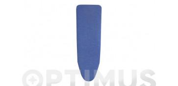 Textil y costura - FUNDA MESA PLANCHAR 125X44 NATURAL AZUL