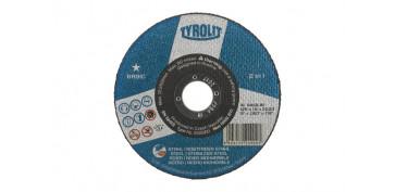 DISCO CORTE ACERO/INOX BASIC 125X1X22 PLANO