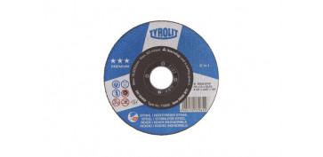 DISCO CORTE ACERO/INOX PREMIUM 125X1,6X22 PLANO