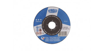 DISCO CORTE ACERO/INOX PREMIUM 230X3X22