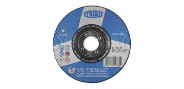 Discos - DISCO DESBASTE ACERO/INOX BASIC 125X6X22