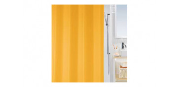 CORTINA DE BAÑO PLASTICO 1800X200 CM BIO ORANGE