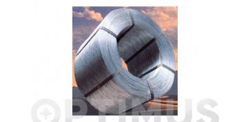 Trefileria y cerramientos de obra - ALAMBRE GALVANIZADO (MAZO 5 KG) N.13-2,0 MM