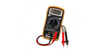 Otros instrumentos de medida - MULTIMETRO DIGITAL DE 3 ½ DIGITOS, RANGO: 0 A 600 PARA AMPERIOS, VOLTIOS, OHMIOS