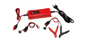 Cargadores de baterías - CARGADOR BATERIAS HF 12 V, 0,8-4 A MIN. 1,2 AH / MAX. 120 AH