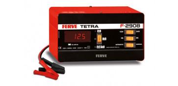 Cargadores de baterías - CARGADOR BATERIAS TETRA 12 V/24 V, 4-8 A MIN. 24 AH / MAX. 95 AH