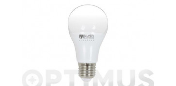LAMPARA LED ESTANDAR 15W E-27 LUZ BLANCA (5000K)