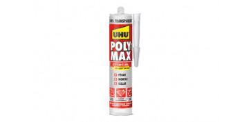 Adhesivos - ADHESIVO MONTAJE Y SELLADOR POLY MAX 300GR CRISTAL EXPRESS
