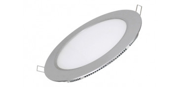 Bombillas - DOWNLIGHT LED EMPOTRAR PLATA REDONDO 18 W1700 LM NEUTRA (4000K)