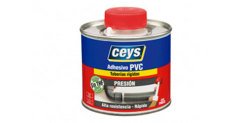 Adhesivos - ADHESIVO PVC PRESION TAPON PINCEL 250 ML
