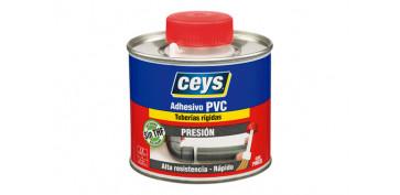 Adhesivos - ADHESIVO PVC PRESION TAPON PINCEL 500 ML