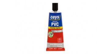 Adhesivos - ADHESIVO PVC PRESION TUBO 125 ML