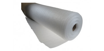 Productos para embalaje - ESPUMA FOAM DE POLIETILENO BLANCO ROLLO 0,75X5 MT 2MM